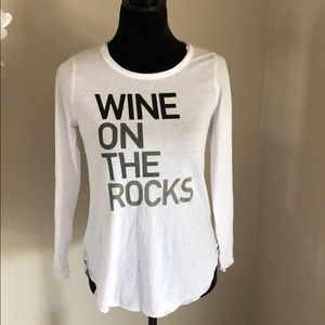 Chaser wine on the rocks shirt